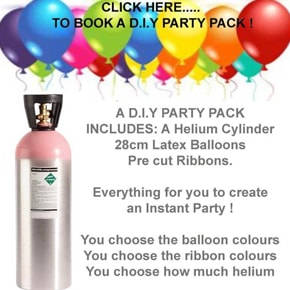 Helium 2 Go: Gas Cylinder Hire & Balloon Party Specialists